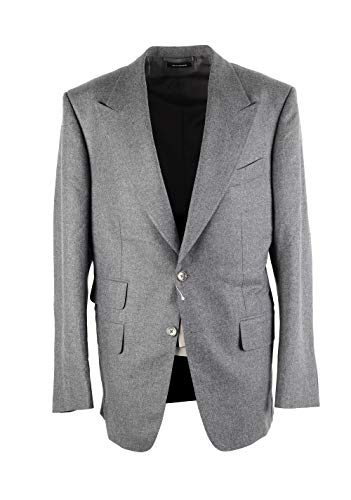CL - Tom Ford Windsor Solid Gray Suit Size 50 / 40R U.S. Wool Fit A