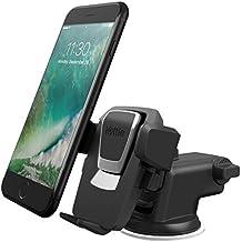 iOttie - HLCRIO120 - Easy One Touch 3 Universal Car Mount iPhone X / 8 / 8 Plus / 7 / 7 Plus / 6/6s, 6/6s Plus, 5S/5SE, Galaxy Note 5/4 & Galaxy S7, S8, S8 Plus, S6  - Nero