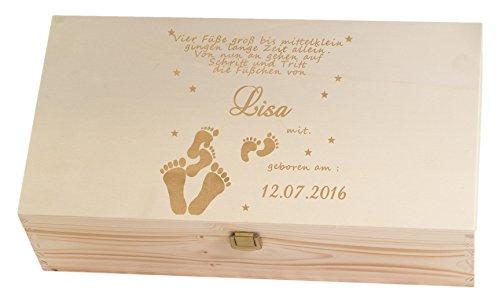 Feiner-Tropfen Erinnerungskiste Holz personalisiert mit Namen Wunsch Gravur 2