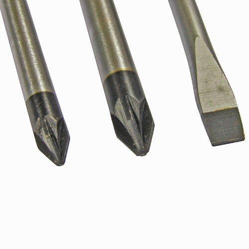 Tournevis-Extra-Long-Embout-Magntique-Philips-ou-Plat-25cm-Lot-de-3-Pices