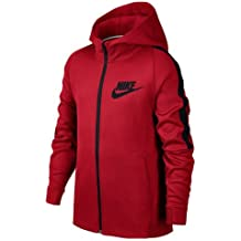 Nike B NSW JKT Tribute Chaqueta, Niños, Rojo (University Red/Black)