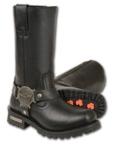 Austin Stiefel (Milwaukee  Mbm131-blk-8.5, Herren Stiefel schwarz schwarz 8.5 D (M) US)