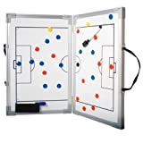 b+d klappbare Magnet Taktiktafel für Fußball (30 x 45 cm)