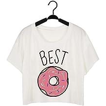 Babysbreath Camiseta de las mujeres Camiseta linda Dulce y duo del café posters Divertido las mejores
