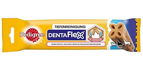 Pedigree DentaFlex für mittelgroße Hunde (10-25kg), Zahnpflege-Snack mit Huhn, 9 Packungen (9 x 80 g) - 4