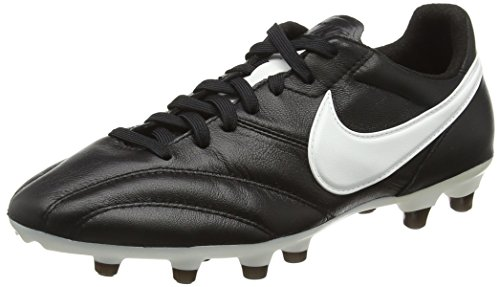 Nike Herren Tiempo Premier FG Fußballschuhe, Schwarz (Black/Summit white-orange Blazer), 40.5 EU