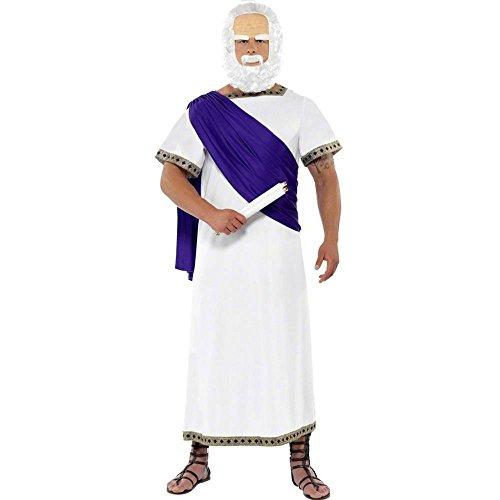 Sokrates Kostüm - Sokrateskostüm Kostüm Sokrates für Herren weiß