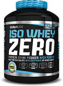 Biotech USA Iso Whey Zero Protein Lactose & Gluten Free 2 x 2.27kg (4.54kg) by BIOTECH USA KFT