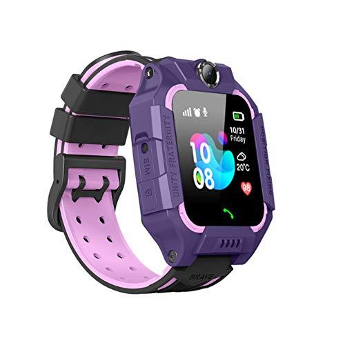 TEEKOO Smart Watch für Kinder, Smart-Armbanduhr mit quadratischem, farblich abgestimmtem Design für Mädchen, Jungen und Geburtstagsgeschenke