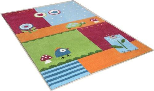 Preisvergleich Produktbild Handgetufteter Teppich Maui in Bunt Rug Size: 100 x 160cm