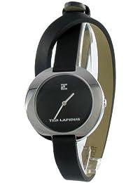 Ted Lapidus - A0300RNNN - Montre Femme - Quartz analogique - Bracelet en Cuir
