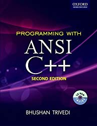 Programming with ANSI C++ (with CD) (Oxford Higher Education)