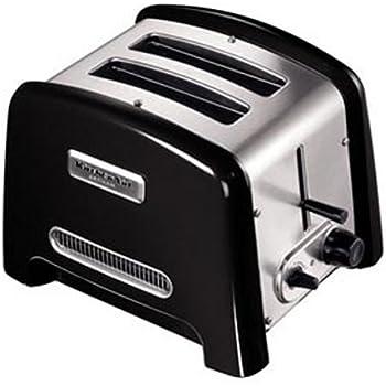 Kitchenaid 5ktt780eob grille pain artisan 2 tranches noir cuisine maison - Grille pain cuisinart cpt160e ...