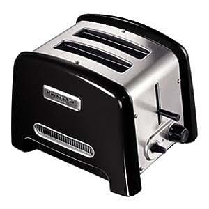 Kitchenaid 5KTT780EOB Grille-Pain Artisan 2 Tranches Noir