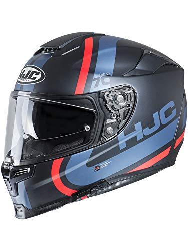 Hjc Blau Rpha 70 Gaon Motorradhelm (Large, Blau)