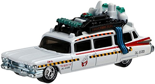 Hot Wheels - Pack de 2 Coches de Juguete, Tema Ghostbusters (DVG08)