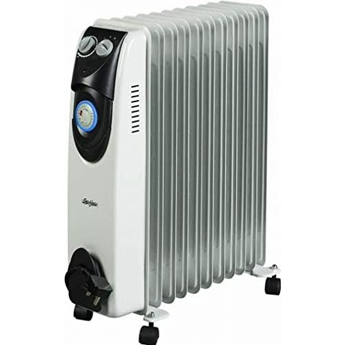 Stirflow Oil Filled Radiator with Timer 2.5kW – SOFR25T