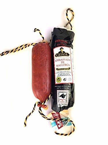 Sobrasada aus Mallorca vom schwarzen Schwein - OHNE ZUSATZSTOFFE - Sobrassada Paprika Streichwurst