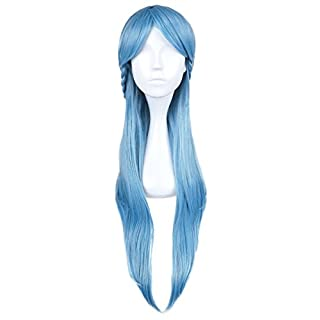 CoolChange Yuuki Asuna ALO wig from Sword Art Online, blue