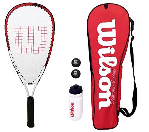 Wilson Tour Junior Squash-Schläger Set