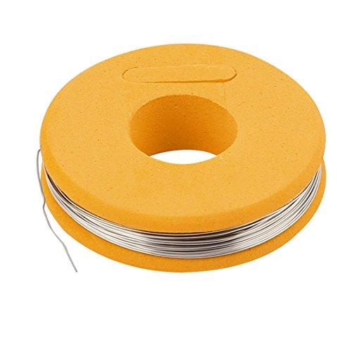 sourcingmap® Nichrom 80 Rund 0,3mm 29 Gauge AWG 25ft Roll 4,87 Ohms/ft Heizer Draht DE de -