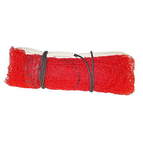 Netco Power Welmart Nylon Badminton Net, 21x2.5 ft (Red, 300)