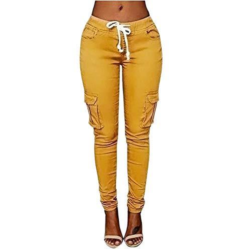 Pantalones De Chándal De Mujer Puños Pantalones