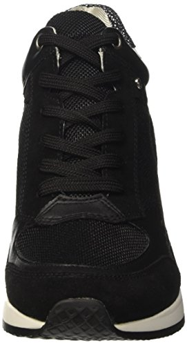 Geox Damen D Nydame A High-Top, Schwarz (blackc9999), 40 EU -