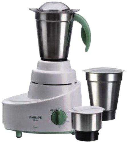 Philips HL1606 500W Mixer Grinder (Green, 3 Jar)