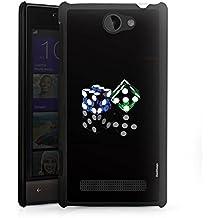 HTC Windows Phone 8S Housse Étui Protection Coque Dé Jeu Miroir
