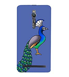 PrintVisa Designer Back Case Cover for Asus Zenfone 2 ZE551ML (books television charger data cable bluetooth)