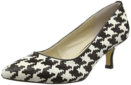 Lotus Damen Ginny Pumps Black (Blk/Wht)