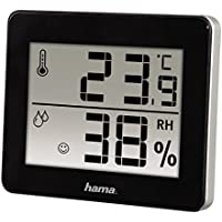 Hama TH-130 Thermometer/Hygrometer - Black