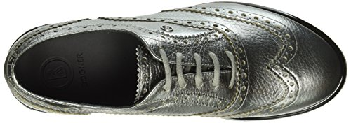 Bogner Oslo 8c, Chaussures de  Football femme Argent - Silber (14 silver)