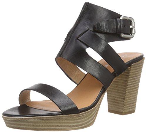Marc O'PoloHigh Heel Sandal - Sandali a Punta Aperta Donna , Nero (Nero (black 990)), 40 2/3