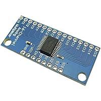Aihasd CD74HC4067 Módulo de la placa de desglose del multiplexor digital de 16 canales de Digitaces para Arduino