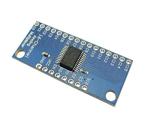 Aihasd CD74HC4067 16-Kanal Analog Digital Multiplexer Breakout Karten modul für Arduino