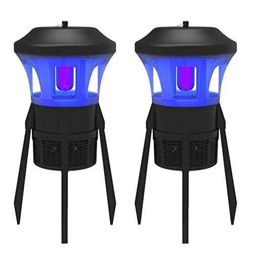 WYX 2Pcs Outdoor/Indoor Mosquito Killer, IPX4 wasserdicht Mosquito Lampe, Bug Zapper, Ultra-Quiet, No Radiation Insekten-Kilferlampe für Bedroom/lebende Room/Garden/Balcony (Quiet Zapper Bug)