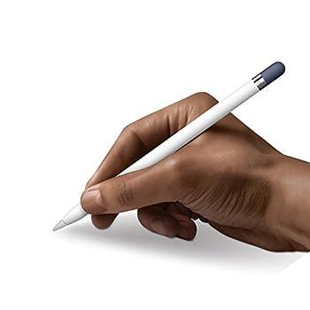 Frtma Für Apple Pencil Kappe Ersatz, Apple Bleistift Deckel Für Ipad Pro (4 Farben Combo, Mitternachts Blauweißminzerot) 3