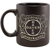Bayer 04 Leverkusen Tasse Black Tee/Kaffeebecher 0,3 Liter