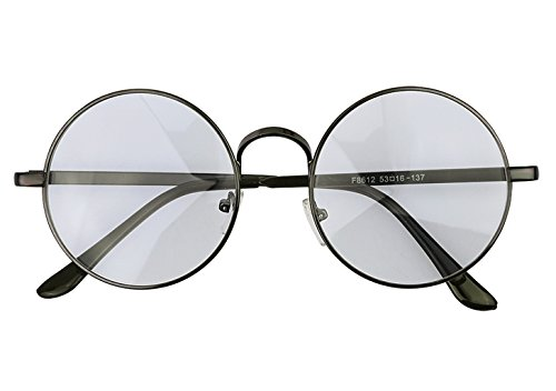 JINTN Klassische Nerdbrille Ohne Stärke Anti Müdigkeit Lesebrille Computer Brille Legierung Rahmen...