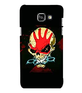 printtech Skull Knuckle Print Back Case Cover for Samsung Galaxy A7 2016 Edition