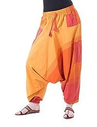 Kunst und Magie Bunte Aladin Haremshose