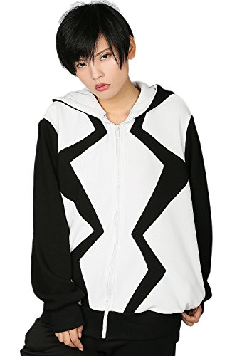 Cosplay Hoodie Hit Movie Sweatshirt Anime Zipper Kapuzenjacke für Erwachsene Kleidung Kostüm Zubehör (X Men Apocalypse Kostüm)