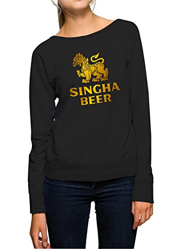 singha-beer-sweater-girls-nero-certified-freak-m