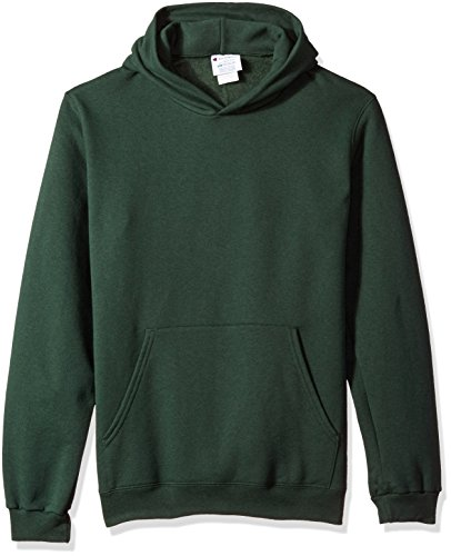 Champion Mens 50/50 EcoSmart Pullover Hood (S700) Vert foncé