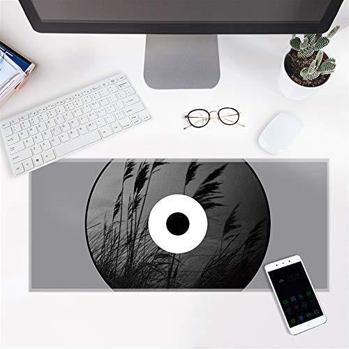 mit Verstärkte Kanten Schreibtischunterlage Wasserdicht Anti Rutsch Matte für Computer PC und Laptop Gras 21x26cm ()