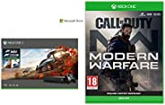 Microsoft 1TB Xbox One X Console (Free Games: Forza Horizon 4 and Forza Motorsport 7 Bundle) + Call of Duty: M