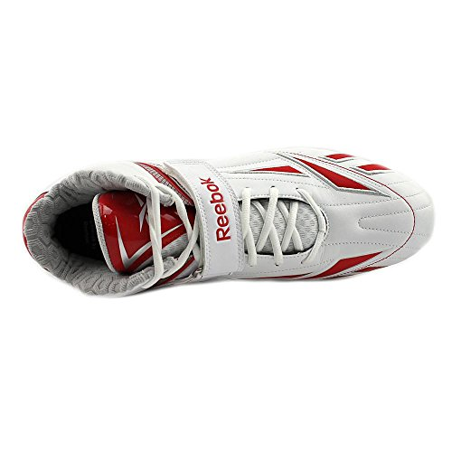 Reebok Pro Full Blitz KFS II MP Synthetik Klampen White/Red