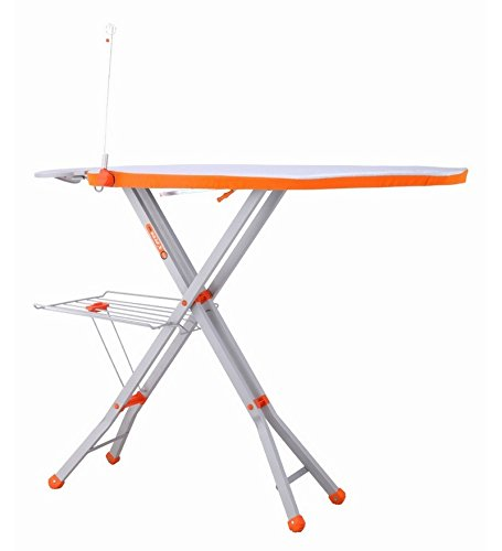 Bathla X-Pres Ace - Large Foldable Ironing Board with Aluminised Ironing Surface (Silver)
